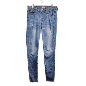 J. Crew   Tooth Pick Light Wash Skinny Jeans
